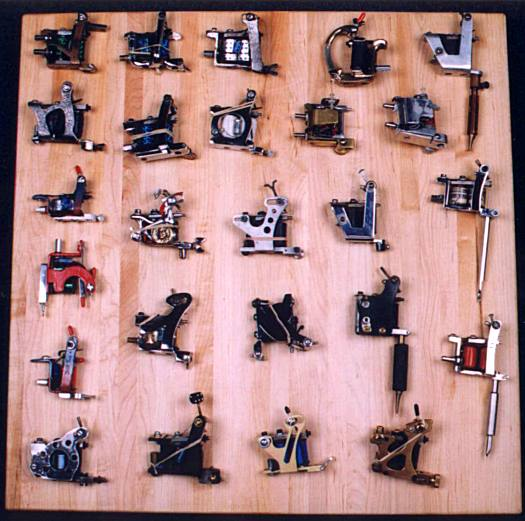 The mechanics behind the tattoo machine have remained relatively unchanged