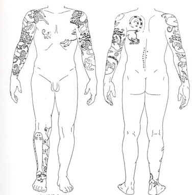 Arabia and spread tattoos along the main merchant routes.