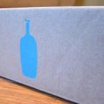 """Blue Bottle4 x 6.5 x 3"""""""