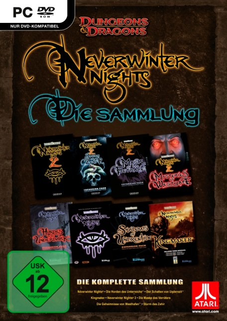 Dungeon & Dragons Anthology Neverwinter Nights - Die Sammlung