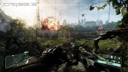 Crysis 3 - Explosions Beneath the Liberty Dome - Tribe Online Magazin