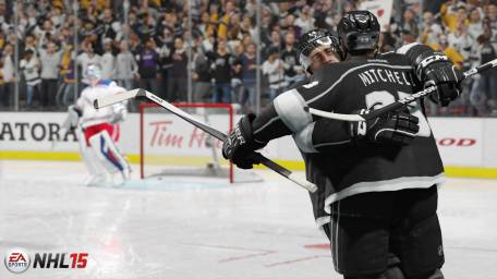 NHL15-Screen-LA-GroupCele_WM - Tribe Online Magazin