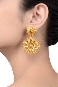 Swarovski Sunflower Earrings