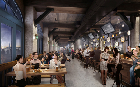 Preview MegaEating Drinking Complex Thats Opening on