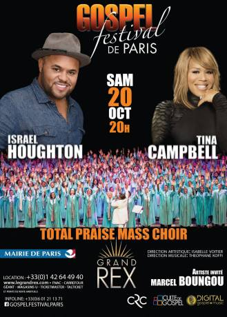 Gospel Festival de Paris 2018 @ Le grand rex | Paris | Île-de-France | France
