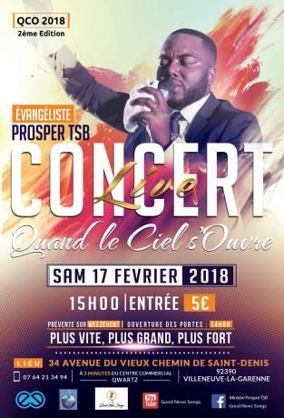 Prosper TSB en concert @ Villeneuve-la-Garenne | Île-de-France | France