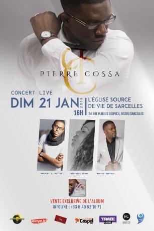 Pierre Cossa en concert live @ Eglise Source de Vie | Sarcelles | Île-de-France | France