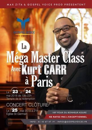 Mega Masterclass avec Kurt Carr à Paris @ Temple de la Rédemption | Paris | Île-de-France | France