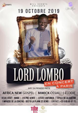 Lord Lombo en concert à Paris @ Espace de la Cokerie