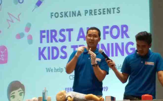 First Aid for Kids Training by Foskina
