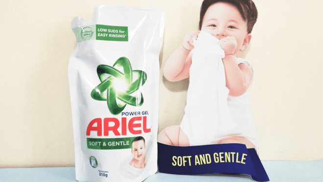 New Ariel Soft and Gentle