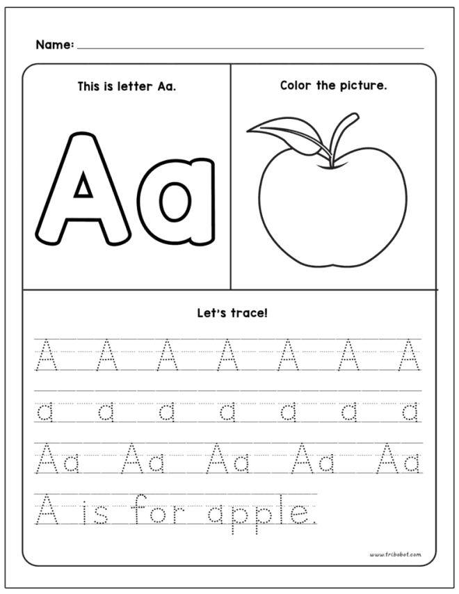 Alphabet Tracing Set FREE PRINTABLES