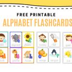 Free Printables Alphabet Flashcards