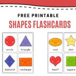 Free Printable: Shapes Flashcards