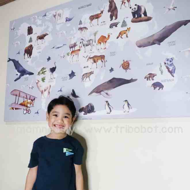 A Review: Photowall Canvas Print for my Kid's Room - MomNesly