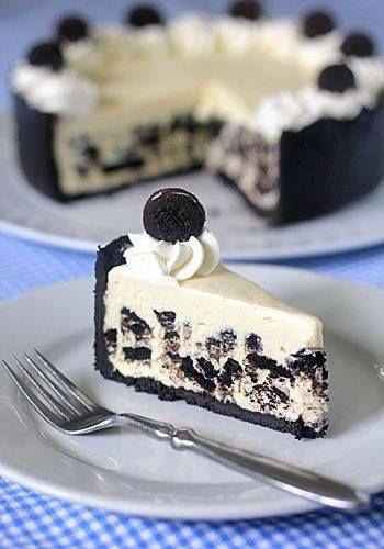 Cheesecake Oreo senza cottura