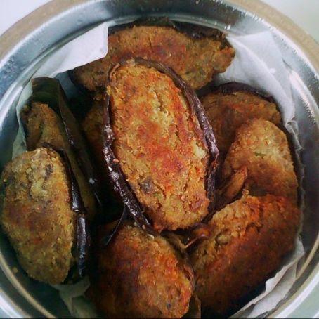 Polpette di melanzane fritte e ripiene  315