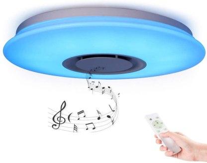 Lámpara de techo con altavoz Horevo