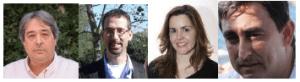Jordi Simon, Antoni Miralpeix, Elena Ojando i Xavier Àvila