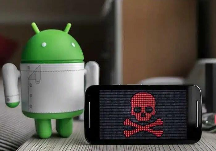 android infectado con virus