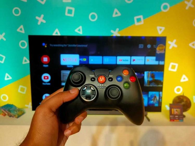 Android TV ejecutando Juegos