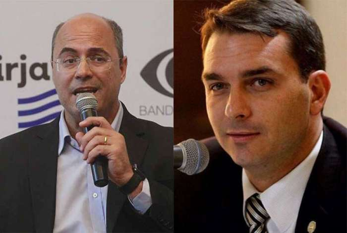 Senador eleito pelo Rio, filho de Bolsonaro apoia Wilson Witzel
