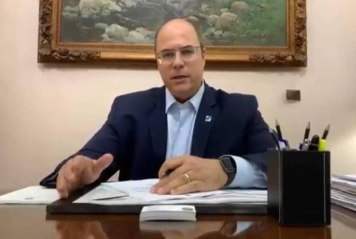 Witzel pede para que afastamento do cargo de governador do RJ não passe de 180 dias