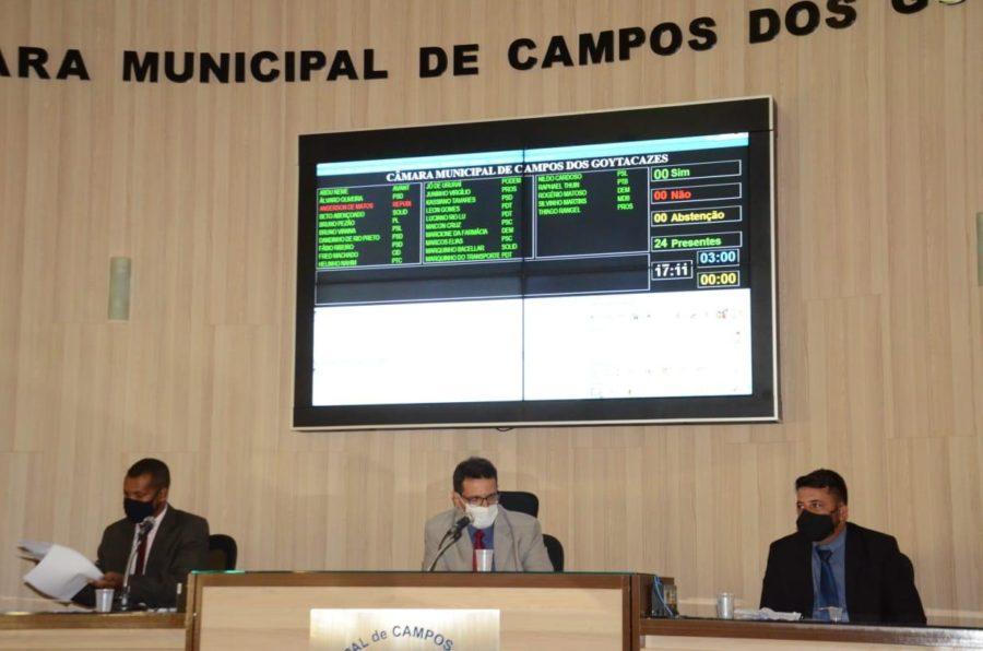 Presidente da Câmara, Fábio Ribeiro instaura CPIs da Saúde e Transporte para investigar governo Rafael Diniz