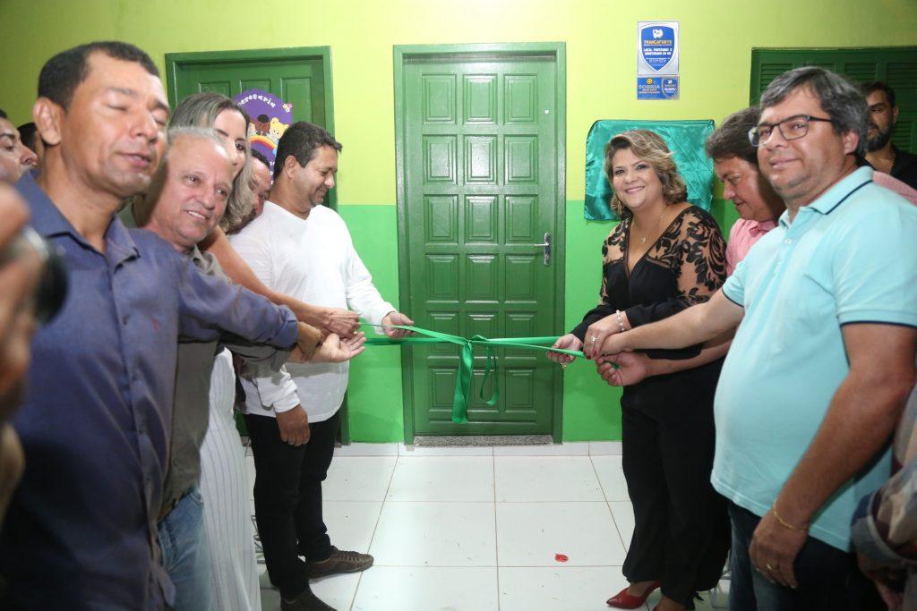 SFI: Inaugurada obra de reforma e ampliação da creche de Macuco