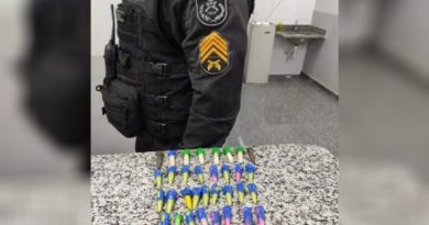 Dois homens são presos com drogas no Parque Prazeres, em Guarus