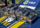 Homem é preso transportando mais de 50 kg de pasta base de cocaína e munições na BR-101
