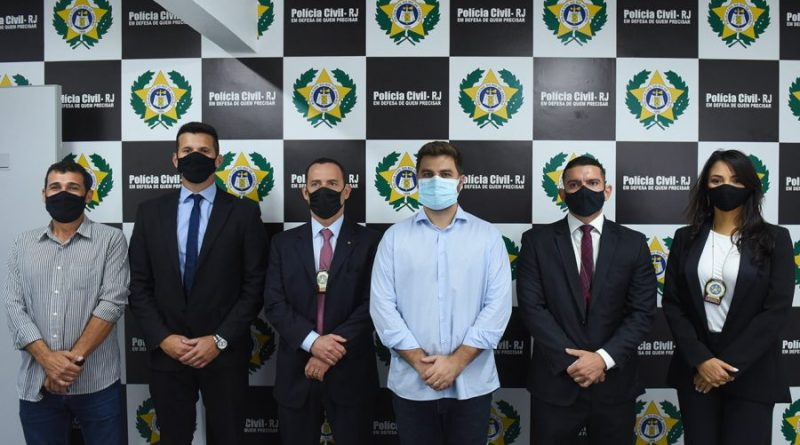 Prefeito Wladimir Garotinho e Secretário de Polícia Civil participam da reinauguração da 146ª DP de Guarus