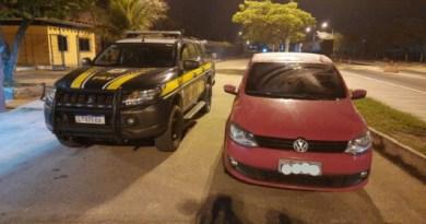 PRF detém motorista com veículo adulterado na BR 101 em Campos