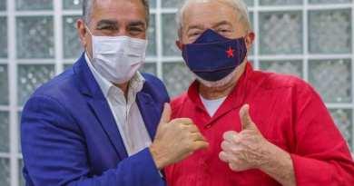 Lula: 'Ceciliano é nosso candidato ao Senado'