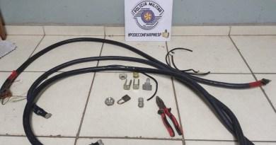 """Indivíduo que furtou """"Lions Club"""" em Taquaritinga (SP) é detido tentando realizar o crime novamente"""