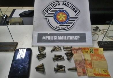 Jovem é preso acusado de comercializar entorpecentes no Jardim Maria Luiza, em Taquaritinga (SP)
