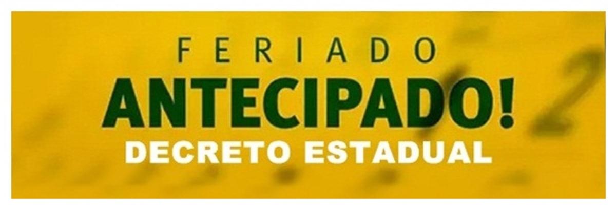 Com antecipação de feriado estadual, estabelecimentos de Taquaritinga (SP) estarão fechados na próxima segunda-feira