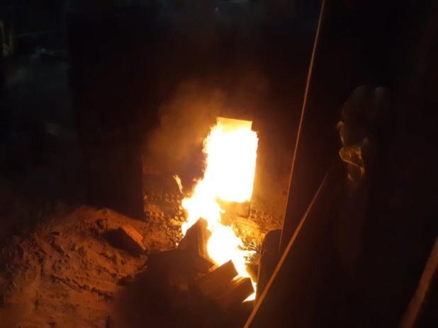 Droga apreendida em Alto Alegre é incinerada pela PM em Santa Luzia