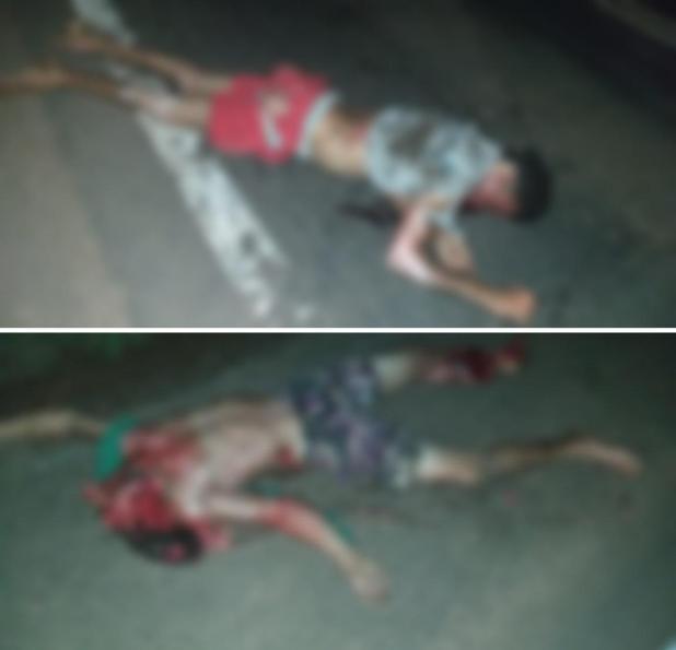 Acidente entre moto e caminhão deixa duas vítimas fatais na BR-364, próximo a Pimenta Bueno