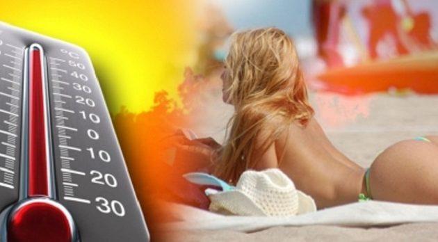 Άγγιξε τους 43 βαθμούς η θερμοκρασία το Σάββατο 26 Ιουνίου