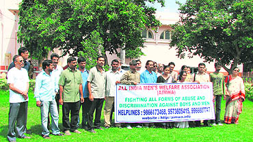 The All-India Men's Welfare Association wants laws to be enacted to  protect men from harassment