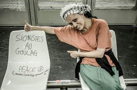 Madame la députée de la France insoumise et Houria Bouteldja - Tribune Juive