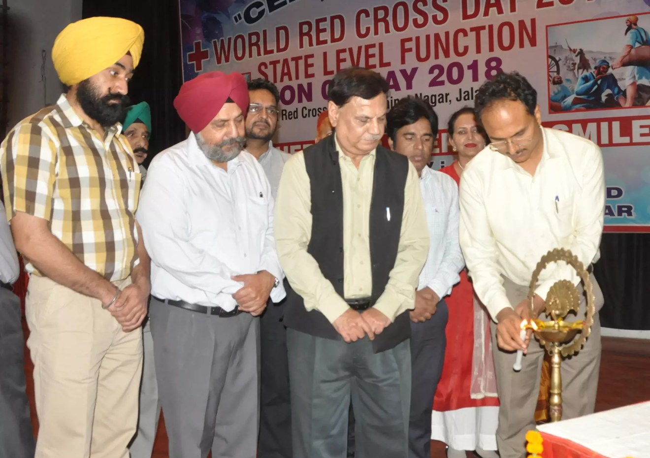 RED CROSS SOCIETY WOULD EVER ACT AS BEACON TO INSPIRE THE YOUNGSTERS FOR SERVICE OF HUMANITY- DC