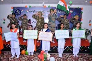 Vivekananda World School pays tributes to martyrs on 19th Kargil Vijay Diwas