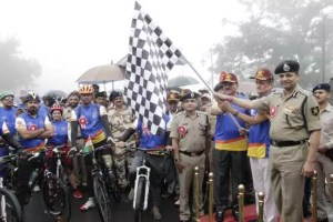Para-cycling expedition ''Infinity Ride – 2018'' of BSF flagged off