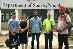VWS's four players selected in Pre National Shooting Competition at Chennai
