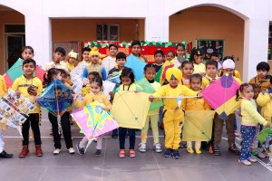 CT Group celebrates Basant Panchmi with kite flying