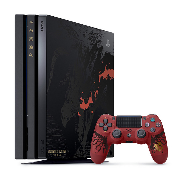 This limited edition Monster Hunter