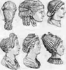 Hairstyles of Roman Women