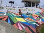 Kadisparbud, berfoto latar belakang objek wisata Cipogas dengan wajah baru
